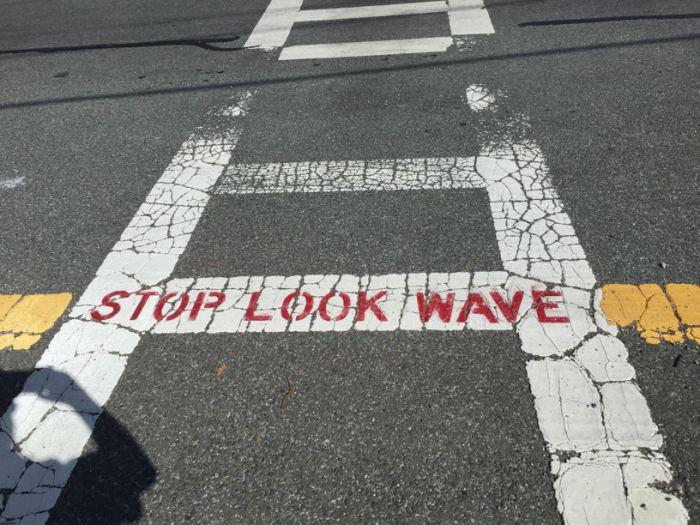 stop-look-wave