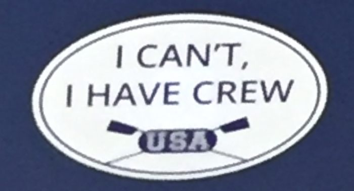 I cant I have crew