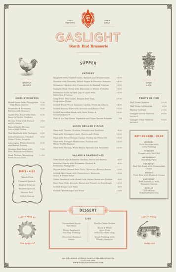 Gaslight menu2